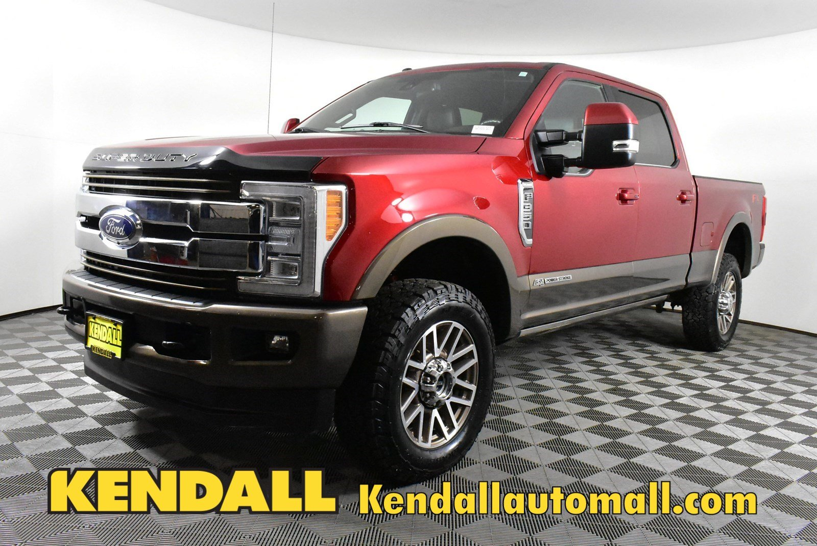 Pre-Owned 2017 Ford Super Duty F-350 SRW King Ranch