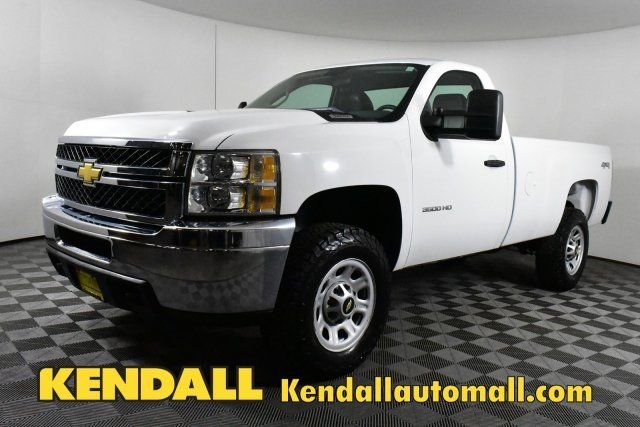 Pre-Owned 2011 Chevrolet Silverado 3500HD SRW Work Truck