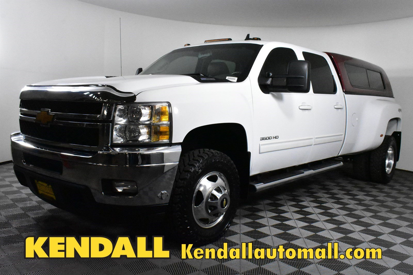 Pre-Owned 2013 Chevrolet Silverado 3500HD LTZ4WD