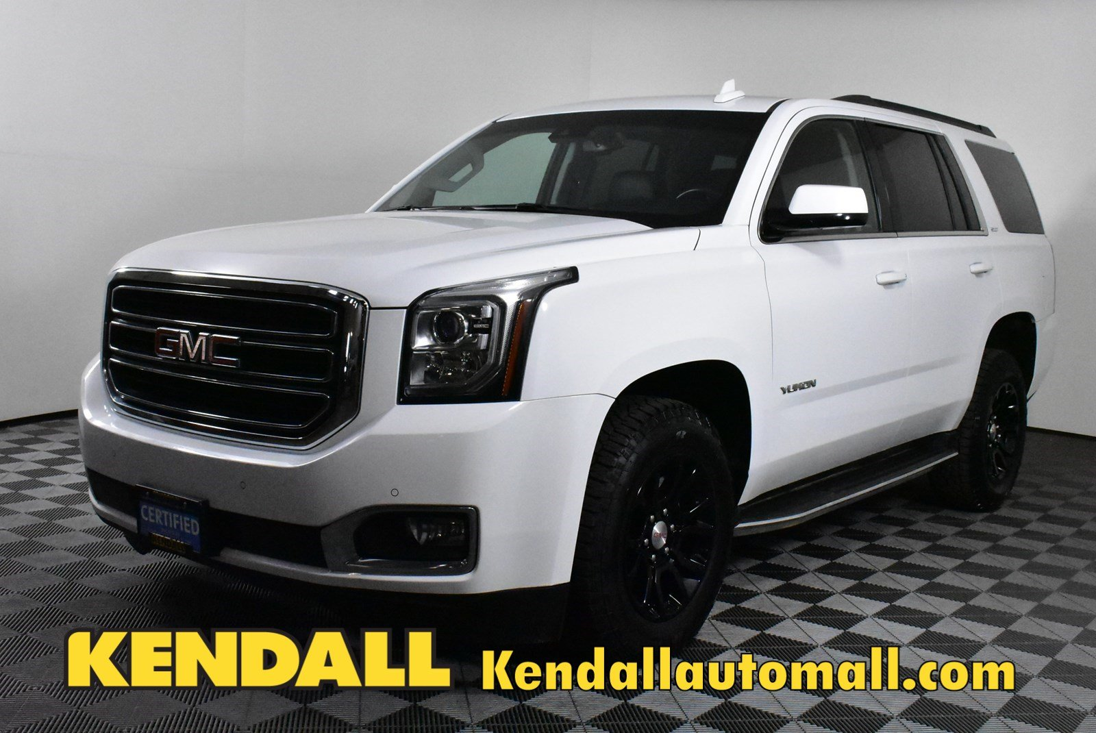 Certified Pre-Owned 2016 GMC Yukon SLT4WD