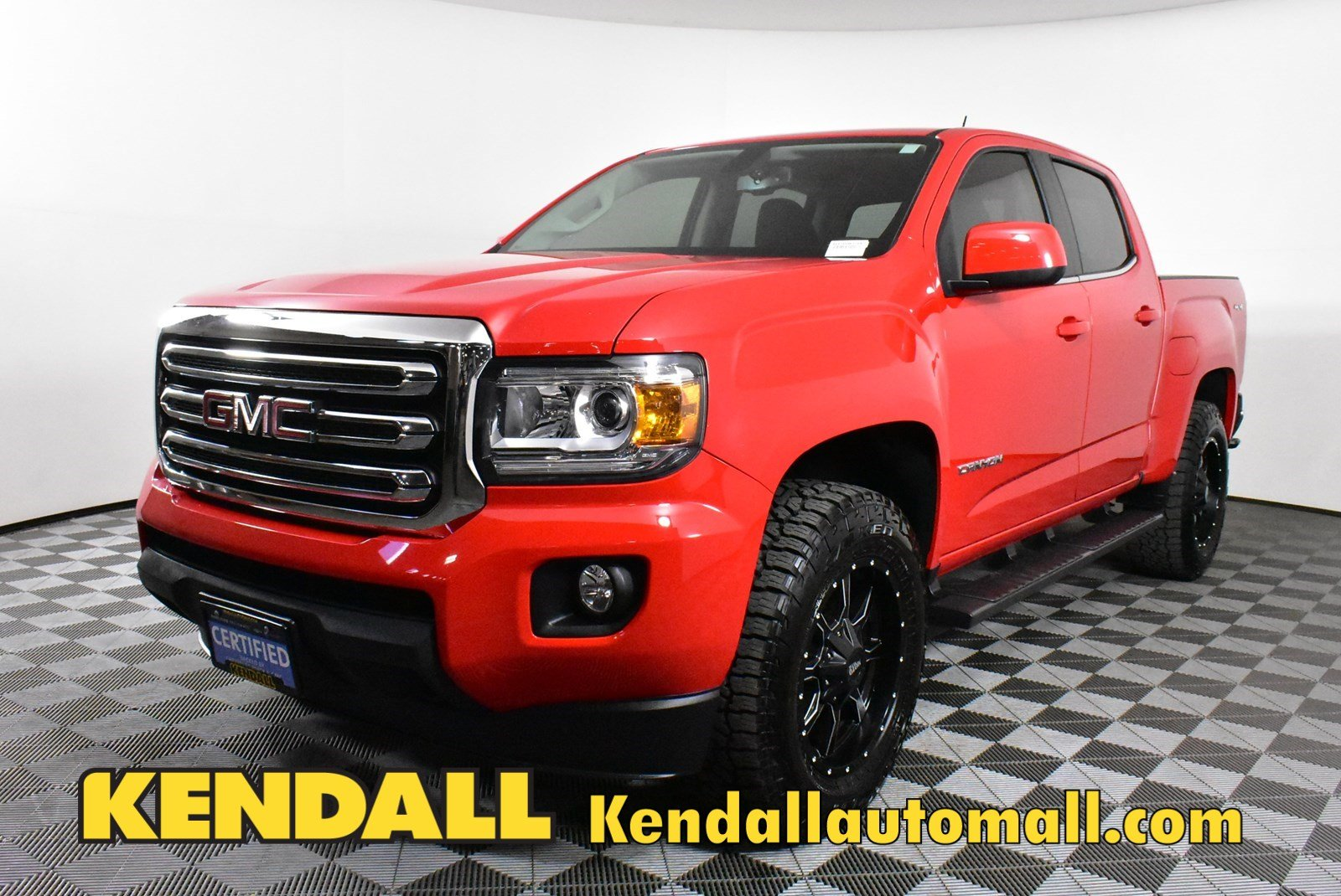 Certified Pre-Owned 2018 GMC Canyon 4WD SLE