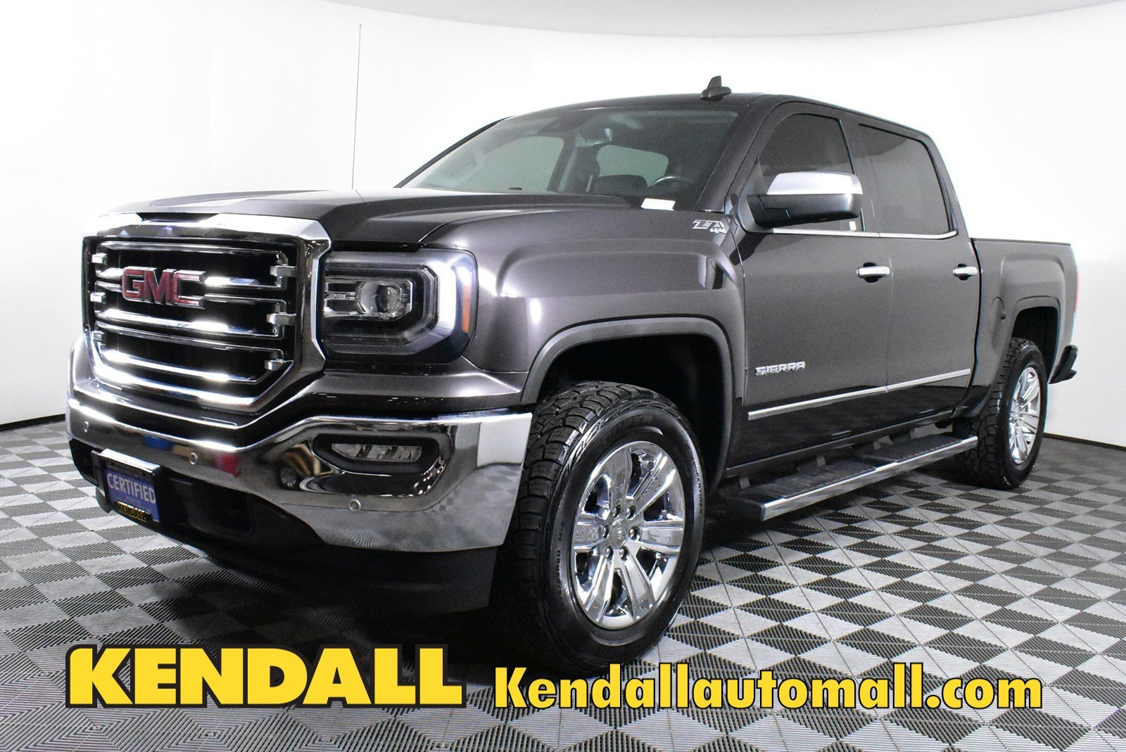 Certified Pre-Owned 2016 GMC Sierra 1500 SLT4WD