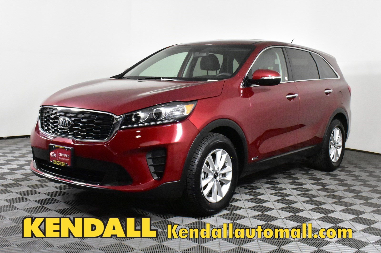 Certified Pre-Owned 2019 Kia Sorento LX V6AWD
