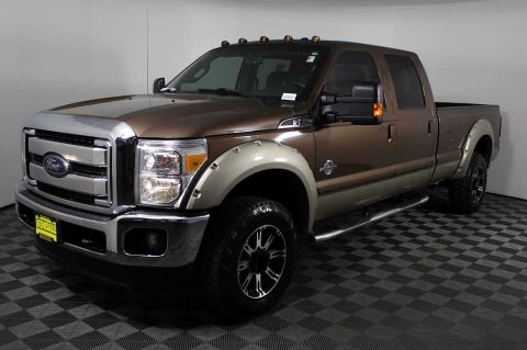 Pre-Owned 2012 Ford Super Duty F-350 SRW King Ranch