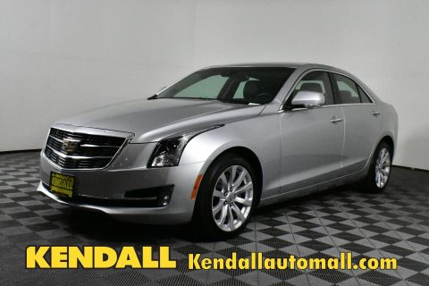 Certified Pre-Owned 2018 Cadillac ATS Sedan Premium Luxury AWD