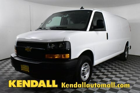 Pre-Owned 2018 Chevrolet Express Cargo Van 2500 RWD 155