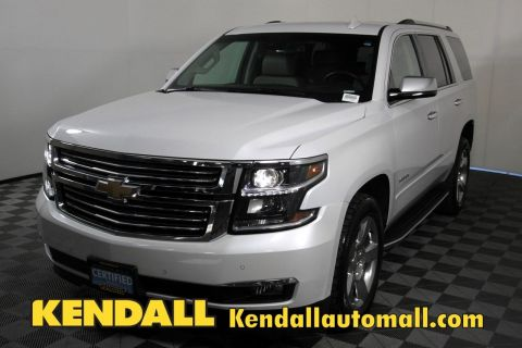Certified Pre-Owned 2017 Chevrolet Tahoe Premier4WD