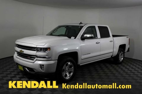 Certified Pre-Owned 2017 Chevrolet Silverado 1500 LTZ4WD