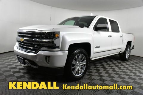 Certified Pre-Owned 2017 Chevrolet Silverado 1500 High Country4WD
