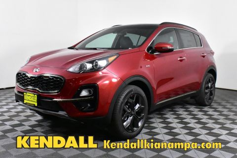 New 2020 Kia Sportage S AWD